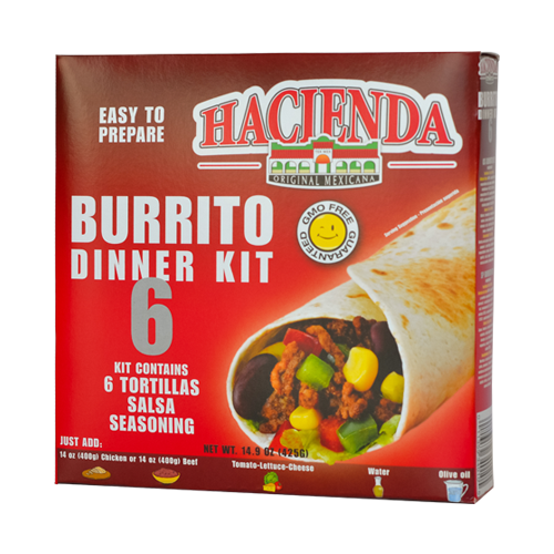 Stack Hacienda Burrito Dinner Kit 6