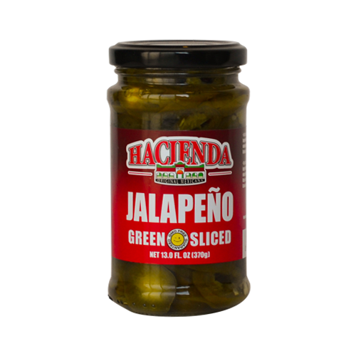 Stack Hacienda Jalapeno Green Sliced Peppers