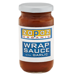 wrap sauce garlic