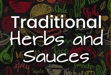 Traditional herbs and souces
